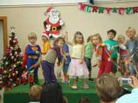 Christmas concert,image ©; Possums Playcentre